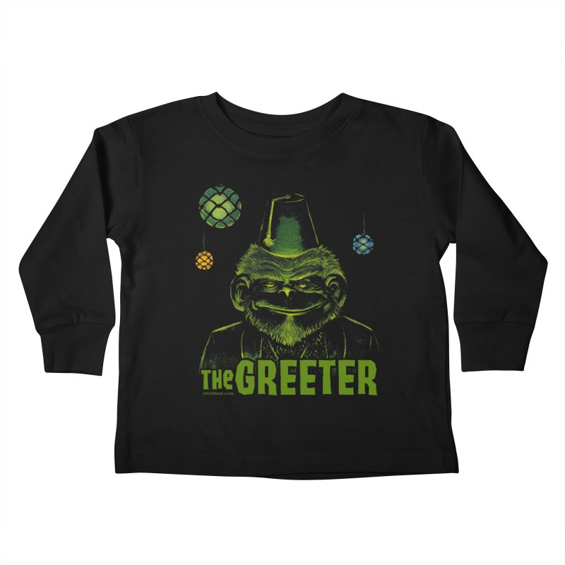 The Greeter   by Zerostreet's Artist Shop