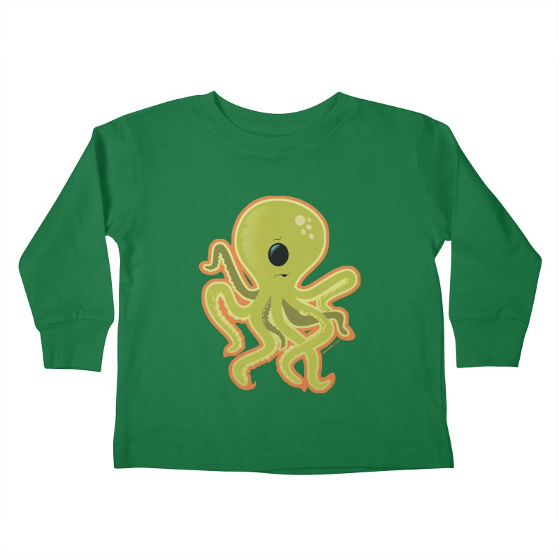 Cycloctopus Kids Toddler Longsleeve T-Shirt by Zerostreet's Artist Shop