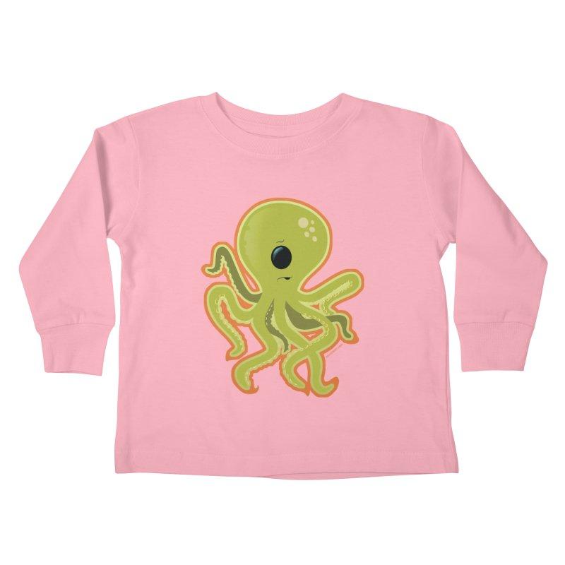 Cycloctopus Kids Toddler Longsleeve T-Shirt by Zerostreet's Artist Shop