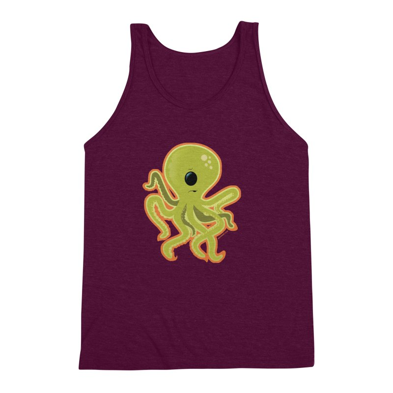 Cycloctopus Men's Triblend Tank by Zerostreet's Artist Shop