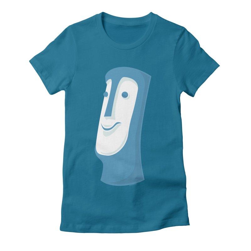 Tiki Mug #1 Women's Fitted T-Shirt by Zerostreet's Artist Shop