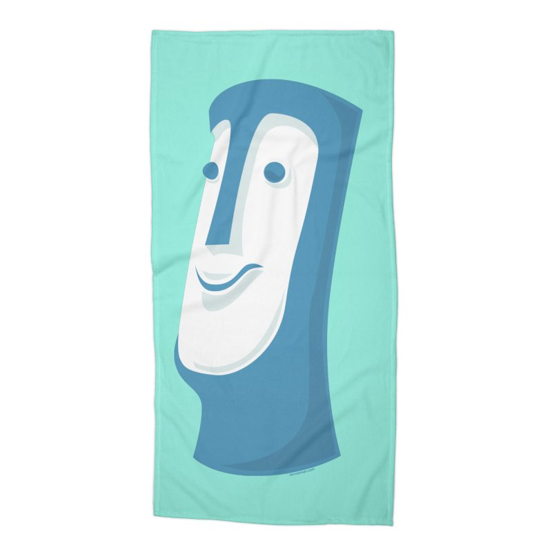 Tiki Mug #1 Accessories Beach Towel by Zerostreet's Artist Shop