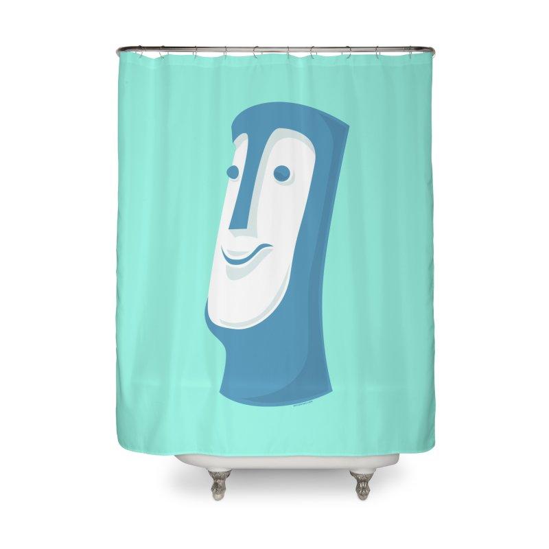 Tiki Mug #1 Home Shower Curtain by Zerostreet's Artist Shop