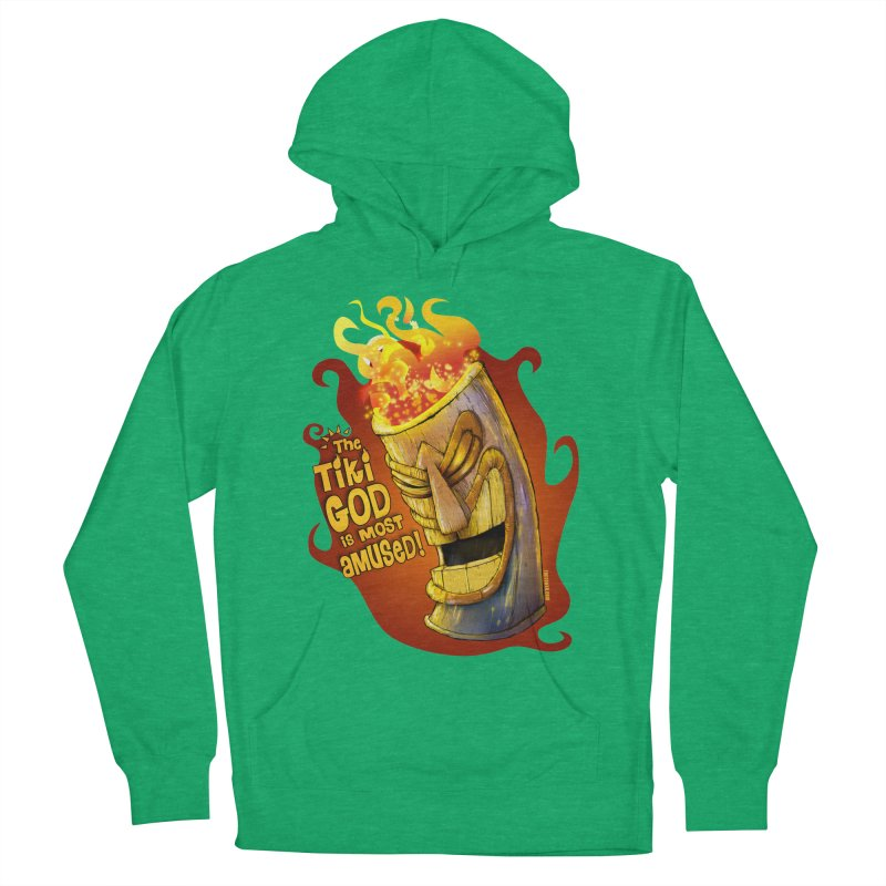 The Tiki God Is Most Amused! Women's Pullover Hoody by Zerostreet's Artist Shop
