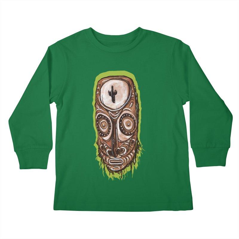PNG TIKI Kids Longsleeve T-Shirt by Zerostreet's Artist Shop