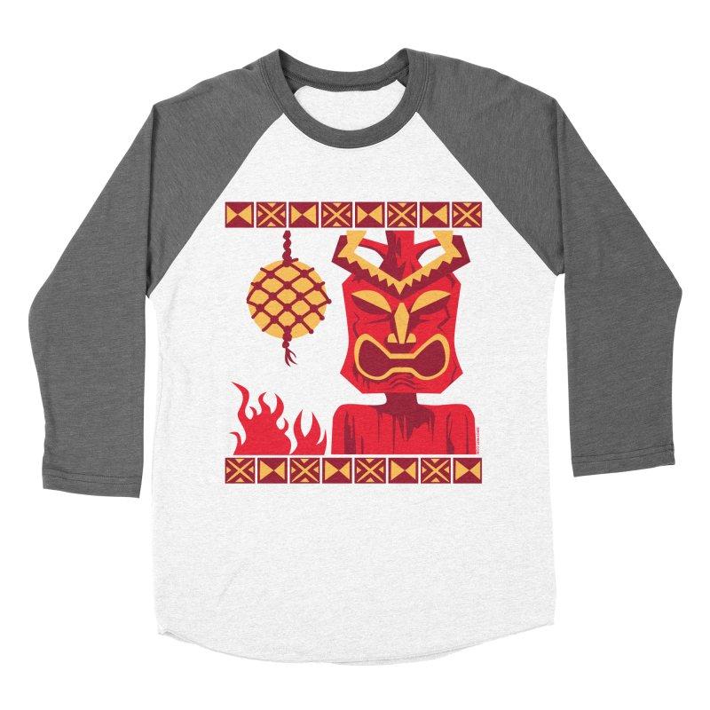 Tikilandia Women's Baseball Triblend T-Shirt by Zerostreet's Artist Shop
