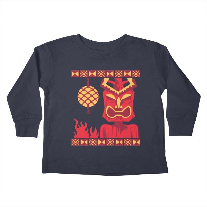Tikilandia Kids Toddler Longsleeve T-Shirt by Zerostreet's Artist Shop