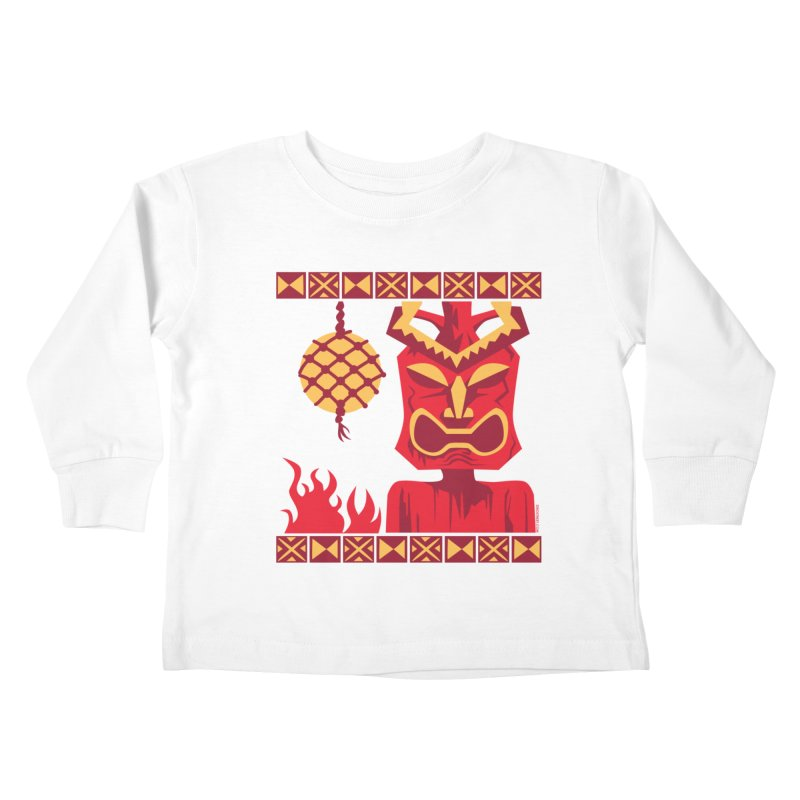 Tikilandia Kids Toddler Longsleeve T-Shirt by Zerostreet's Artist Shop
