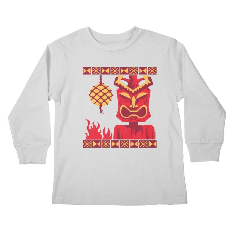 Tikilandia Kids Longsleeve T-Shirt by Zerostreet's Artist Shop