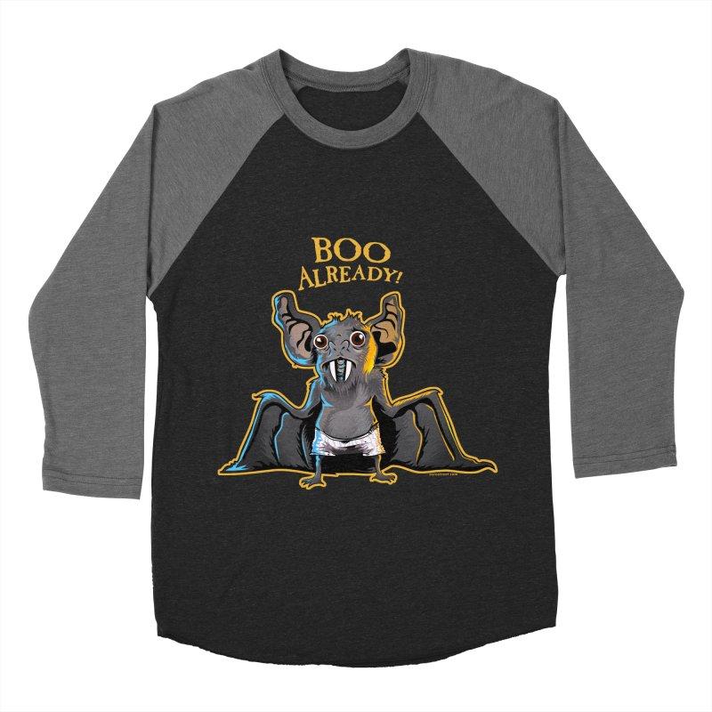 Boo Bat Men's Baseball Triblend T-Shirt by Zerostreet's Artist Shop