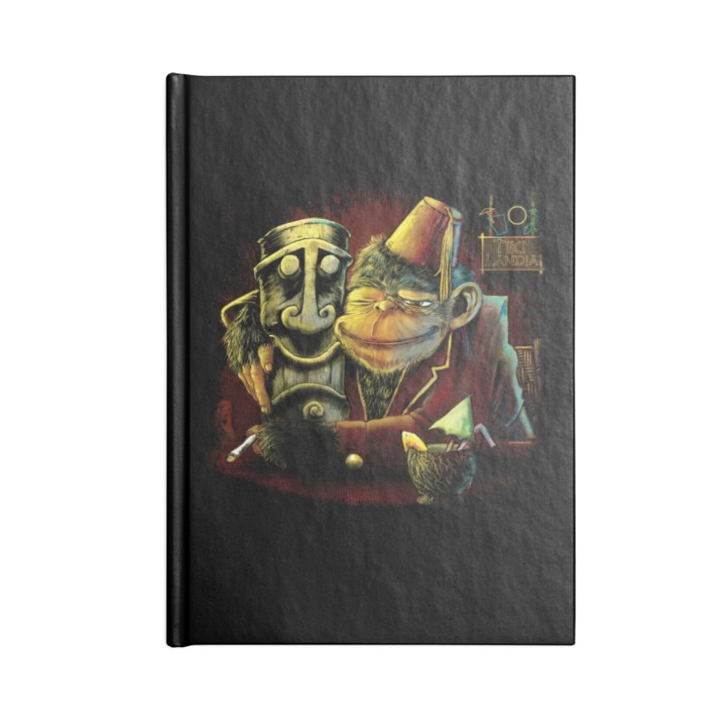Last Call At Tikilandia Accessories Notebook by Zerostreet's Artist Shop
