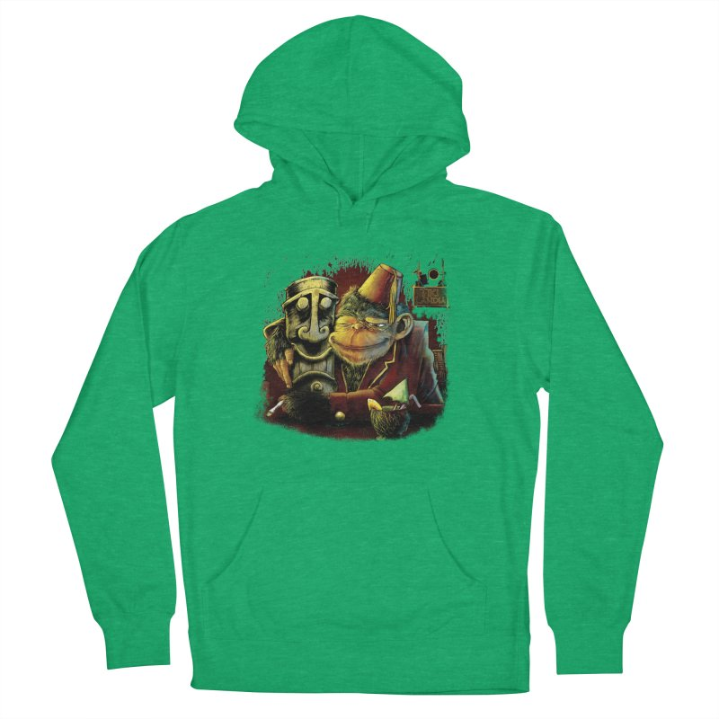 Last Call At Tikilandia Women's French Terry Pullover Hoody by Zerostreet's Artist Shop