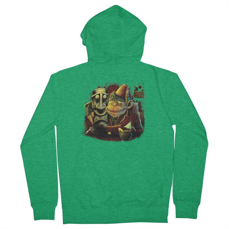 Last Call At Tikilandia Men's French Terry Zip-Up Hoody by Zerostreet's Artist Shop