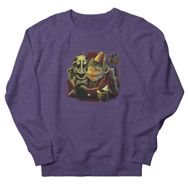 Last Call At Tikilandia Men's French Terry Sweatshirt by Zerostreet's Artist Shop