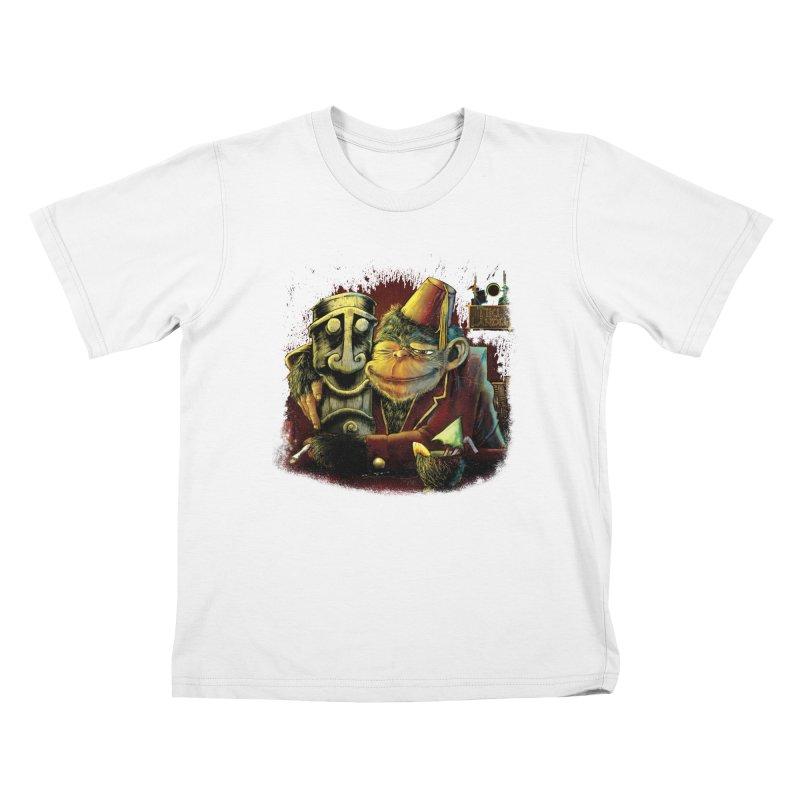 Last Call At Tikilandia Kids T-Shirt by Zerostreet's Artist Shop