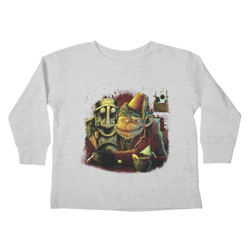 Last Call At Tikilandia Kids Toddler Longsleeve T-Shirt by Zerostreet's Artist Shop