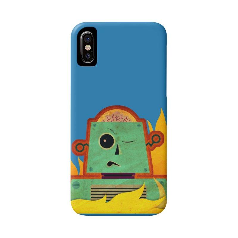 BRAINBOT Accessories Phone Case by Zerostreet's Artist Shop