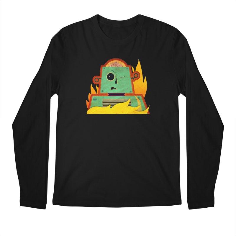 BRAINBOT Men's Regular Longsleeve T-Shirt by Zerostreet's Artist Shop