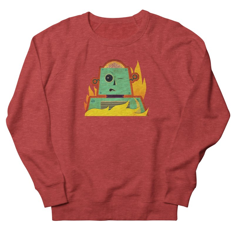 BRAINBOT Men's French Terry Sweatshirt by Zerostreet's Artist Shop