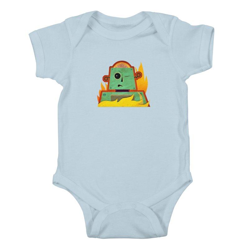 BRAINBOT Kids Baby Bodysuit by Zerostreet's Artist Shop