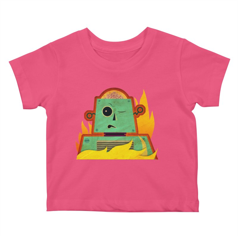 BRAINBOT Kids Baby T-Shirt by Zerostreet's Artist Shop