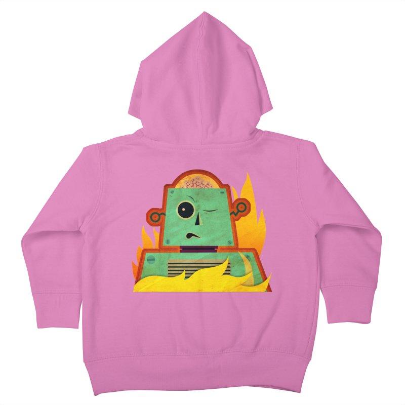 BRAINBOT Kids Toddler Zip-Up Hoody by Zerostreet's Artist Shop