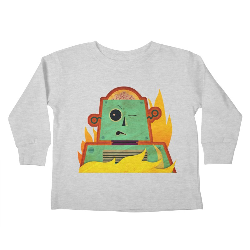 BRAINBOT Kids Toddler Longsleeve T-Shirt by Zerostreet's Artist Shop