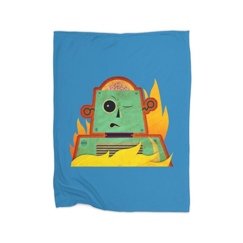 BRAINBOT Home Blanket by Zerostreet's Artist Shop