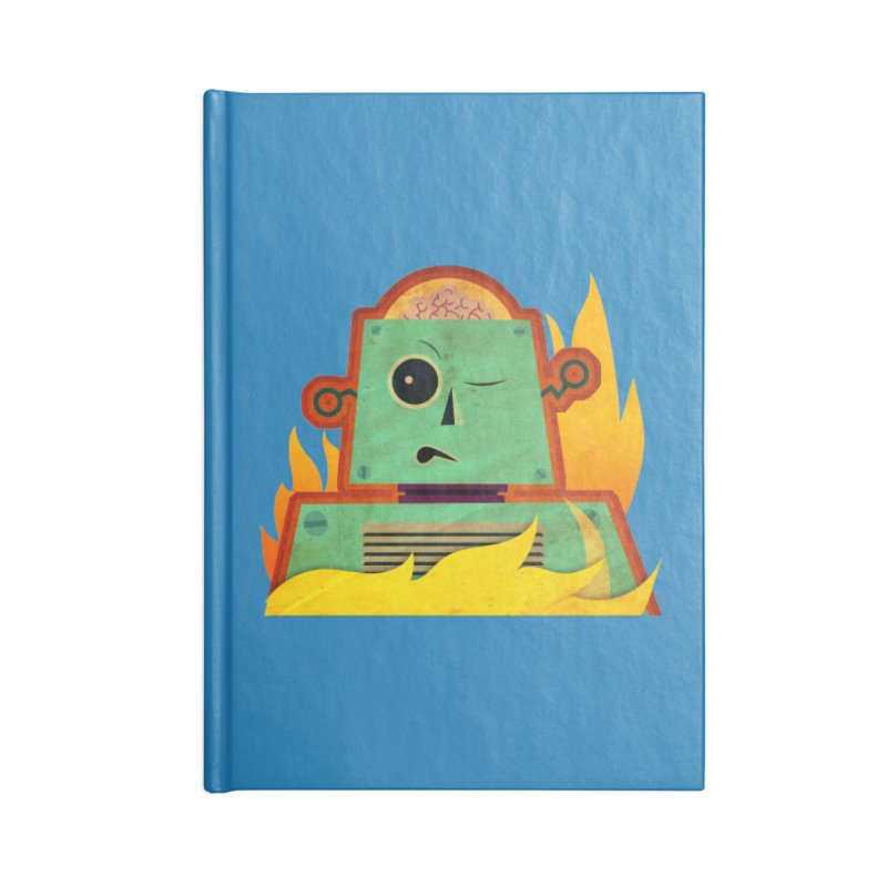 BRAINBOT Accessories Notebook by Zerostreet's Artist Shop