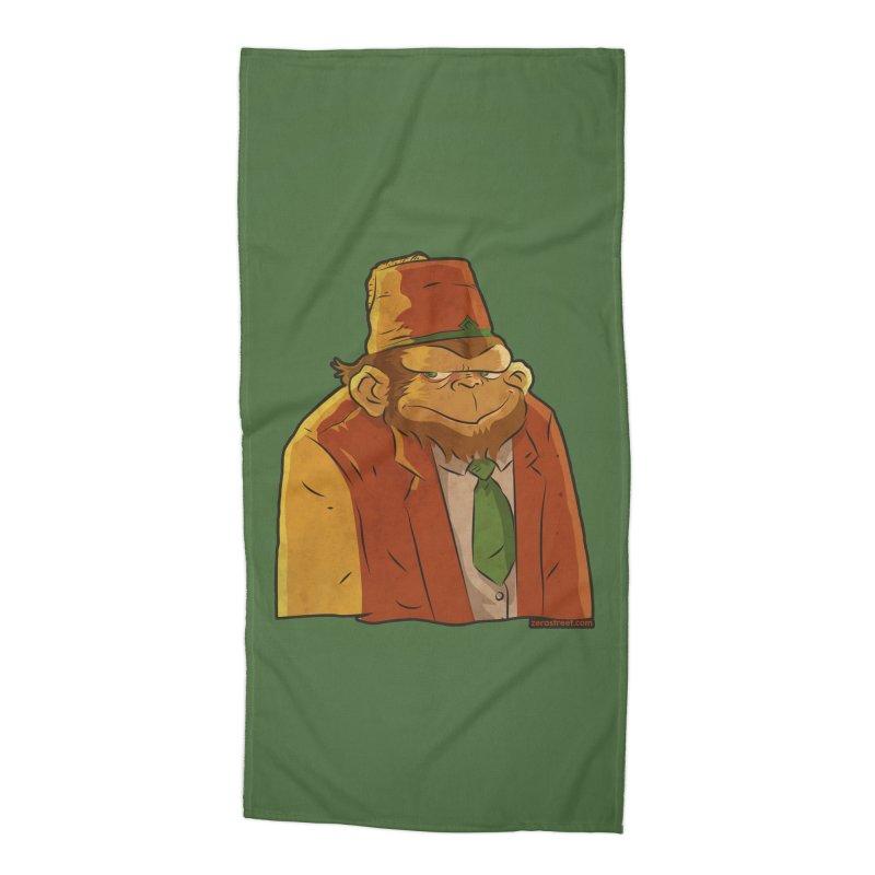 Rusty The Chimp Accessories Beach Towel by Zerostreet's Artist Shop