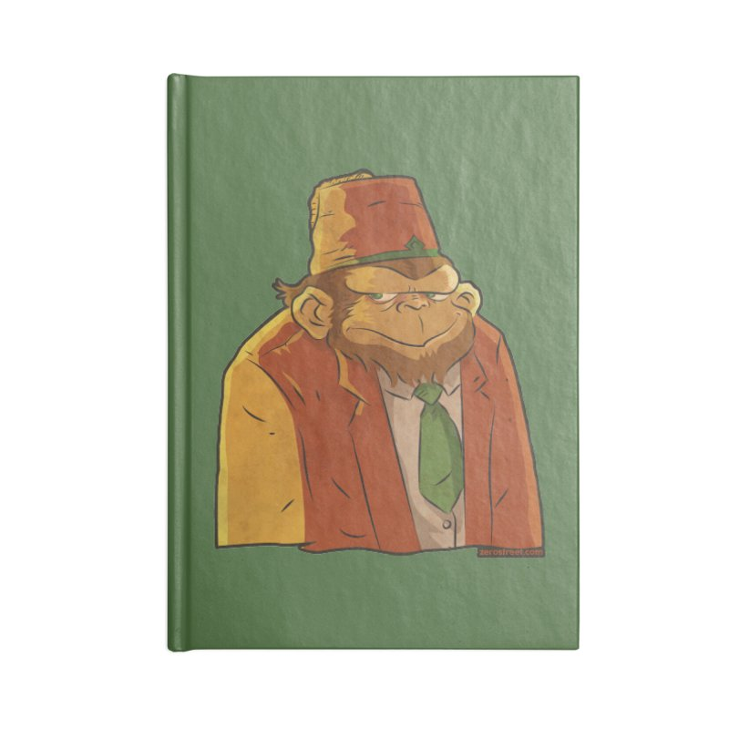 Rusty The Chimp Accessories Notebook by Zerostreet's Artist Shop