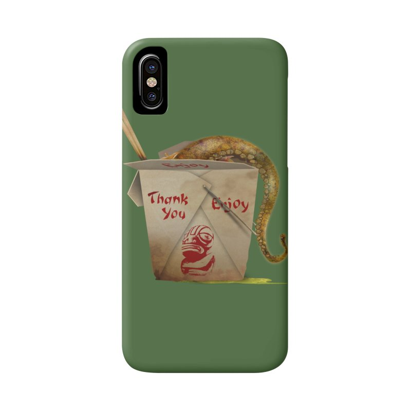 TENTACLE TAKE-OUT Accessories Phone Case by Zerostreet's Artist Shop