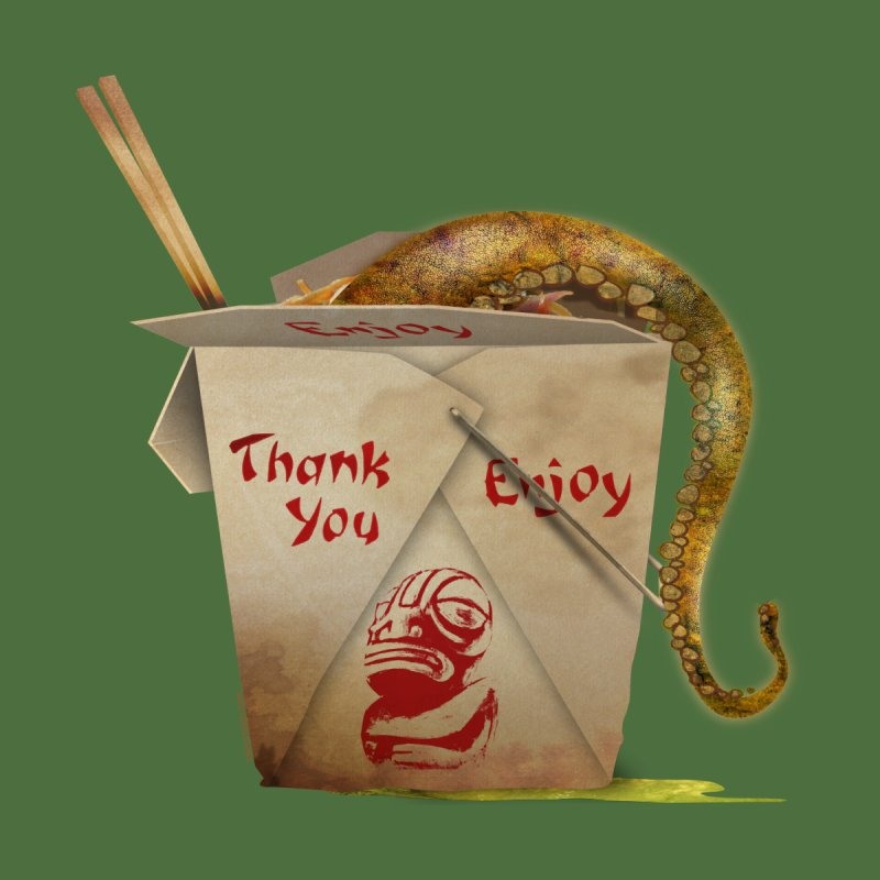 TENTACLE TAKE-OUT by Zerostreet's Artist Shop