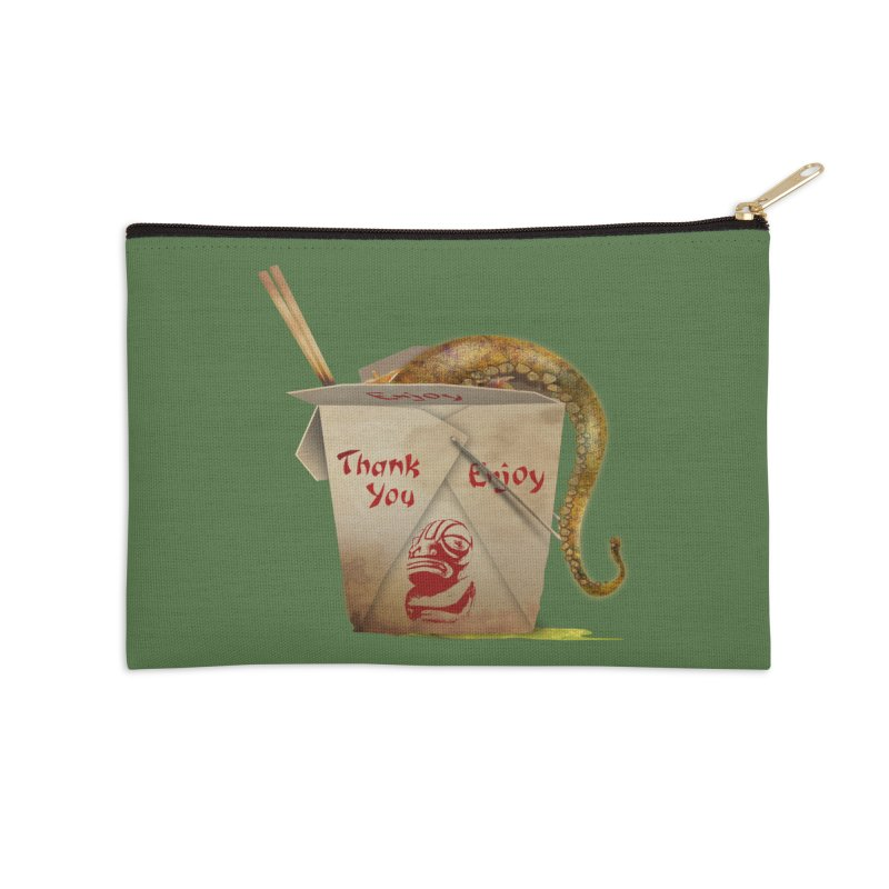 TENTACLE TAKE-OUT Accessories Zip Pouch by Zerostreet's Artist Shop
