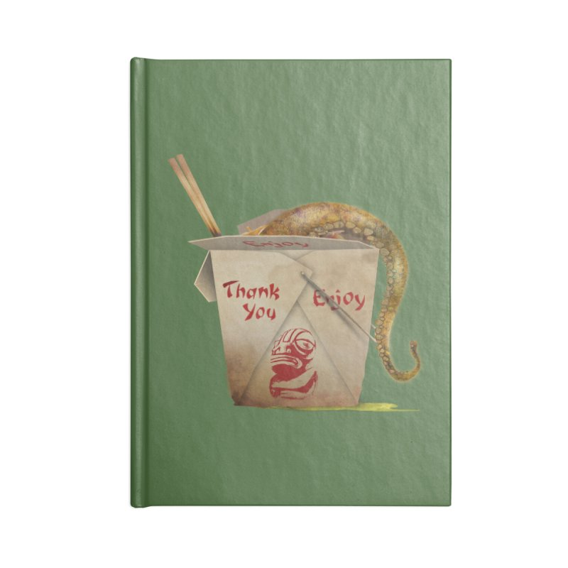 TENTACLE TAKE-OUT Accessories Notebook by Zerostreet's Artist Shop