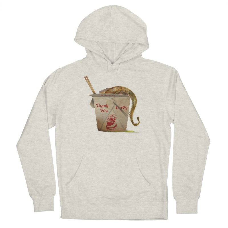 TENTACLE TAKE-OUT Women's French Terry Pullover Hoody by Zerostreet's Artist Shop