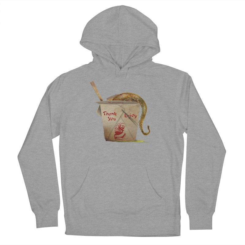 TENTACLE TAKE-OUT Men's French Terry Pullover Hoody by Zerostreet's Artist Shop