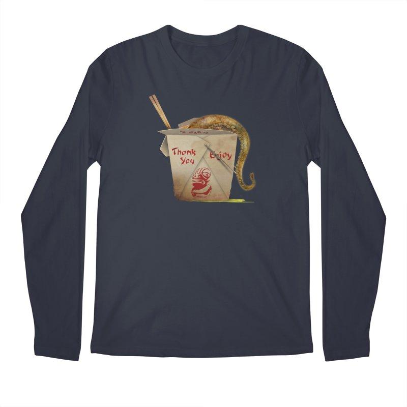 TENTACLE TAKE-OUT Men's Regular Longsleeve T-Shirt by Zerostreet's Artist Shop