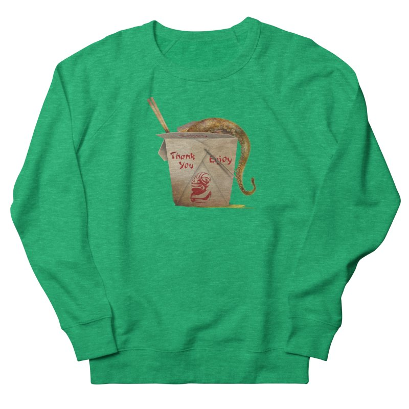 TENTACLE TAKE-OUT Men's French Terry Sweatshirt by Zerostreet's Artist Shop