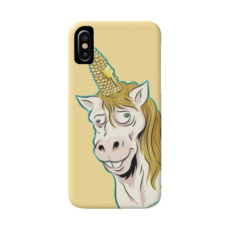 Hot Buttered Unicorn Accessories Phone Case by Zerostreet's Artist Shop