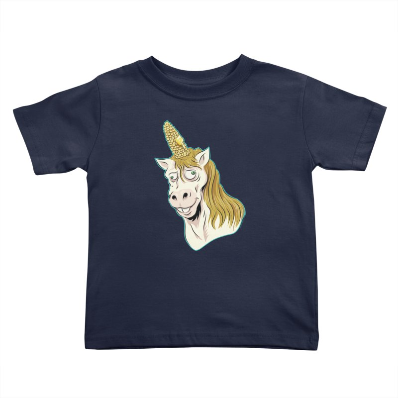 Hot Buttered Unicorn Kids Toddler T-Shirt by Zerostreet's Artist Shop