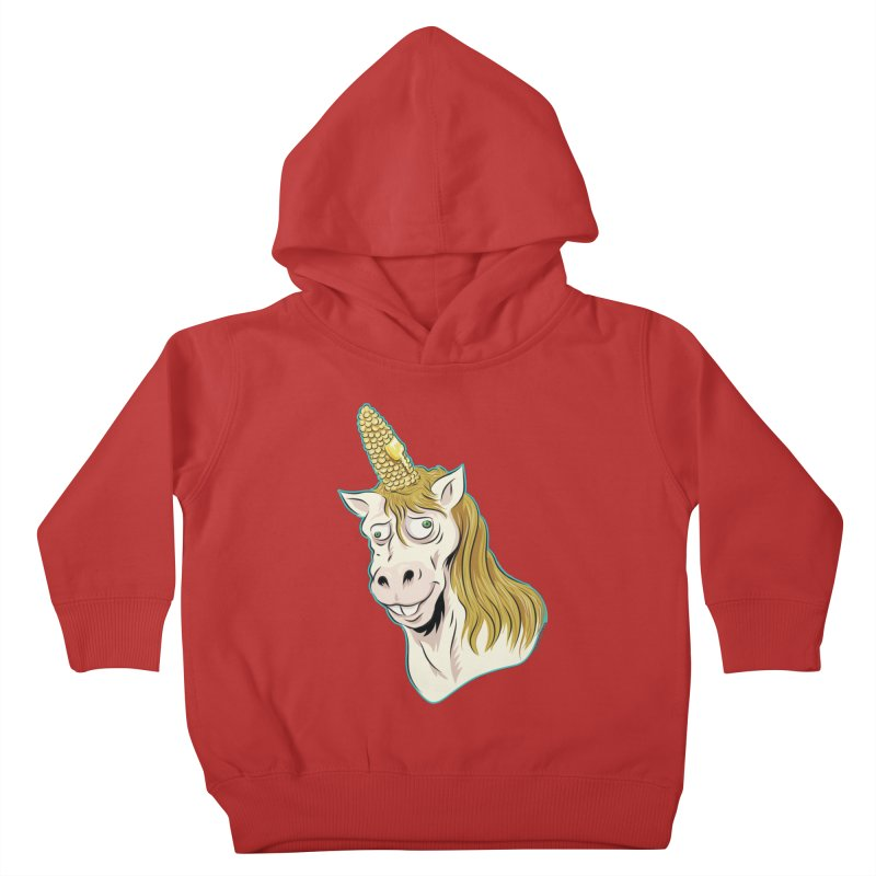 Hot Buttered Unicorn Kids Toddler Pullover Hoody by Zerostreet's Artist Shop