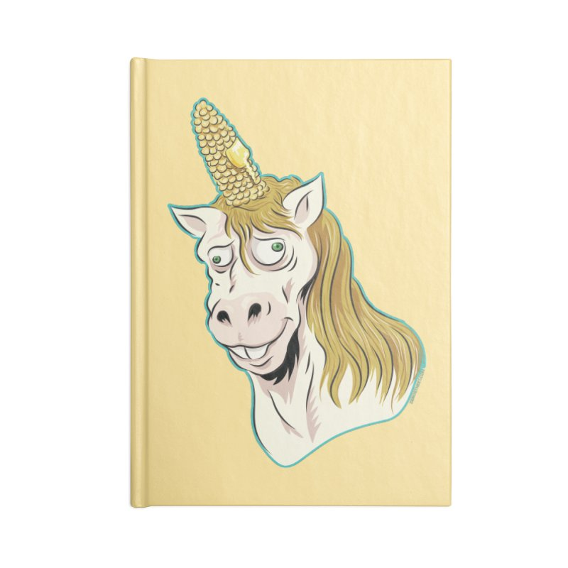 Hot Buttered Unicorn Accessories Notebook by Zerostreet's Artist Shop