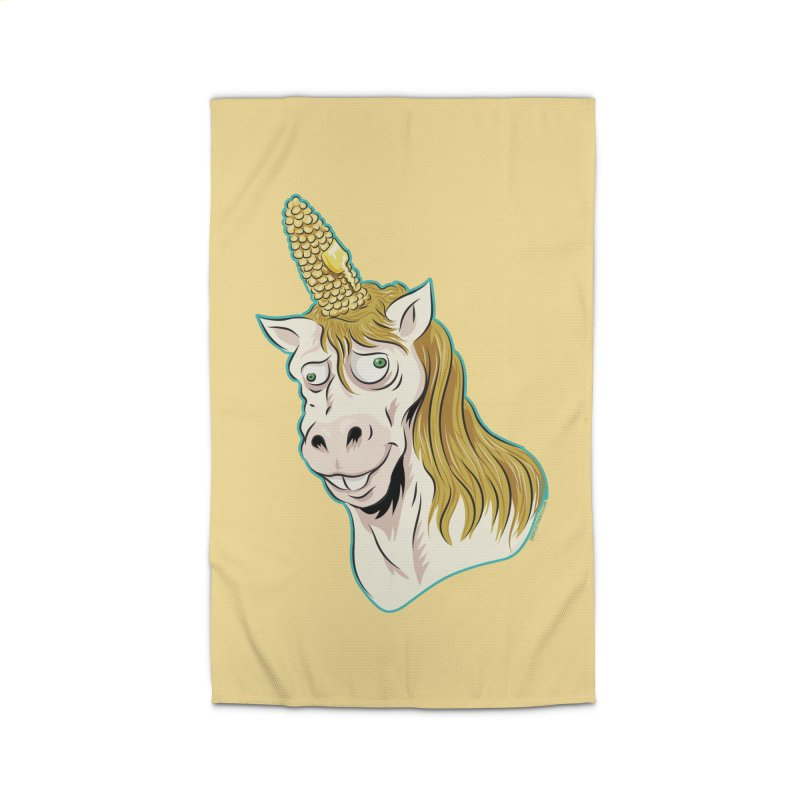 Hot Buttered Unicorn Home Rug by Zerostreet's Artist Shop