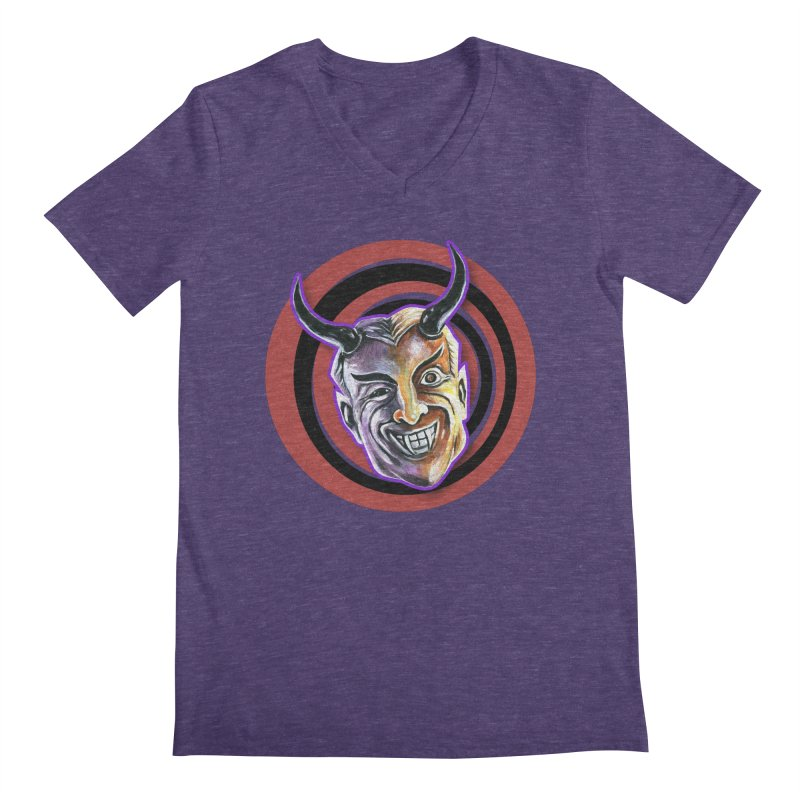 Mystic Seer Men's Regular V-Neck by Zerostreet's Artist Shop