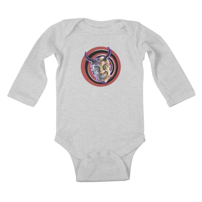Mystic Seer Kids Baby Longsleeve Bodysuit by Zerostreet's Artist Shop
