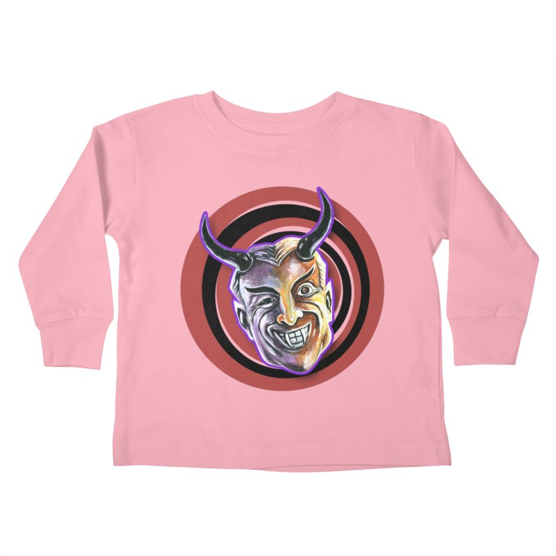 Mystic Seer Kids Toddler Longsleeve T-Shirt by Zerostreet's Artist Shop