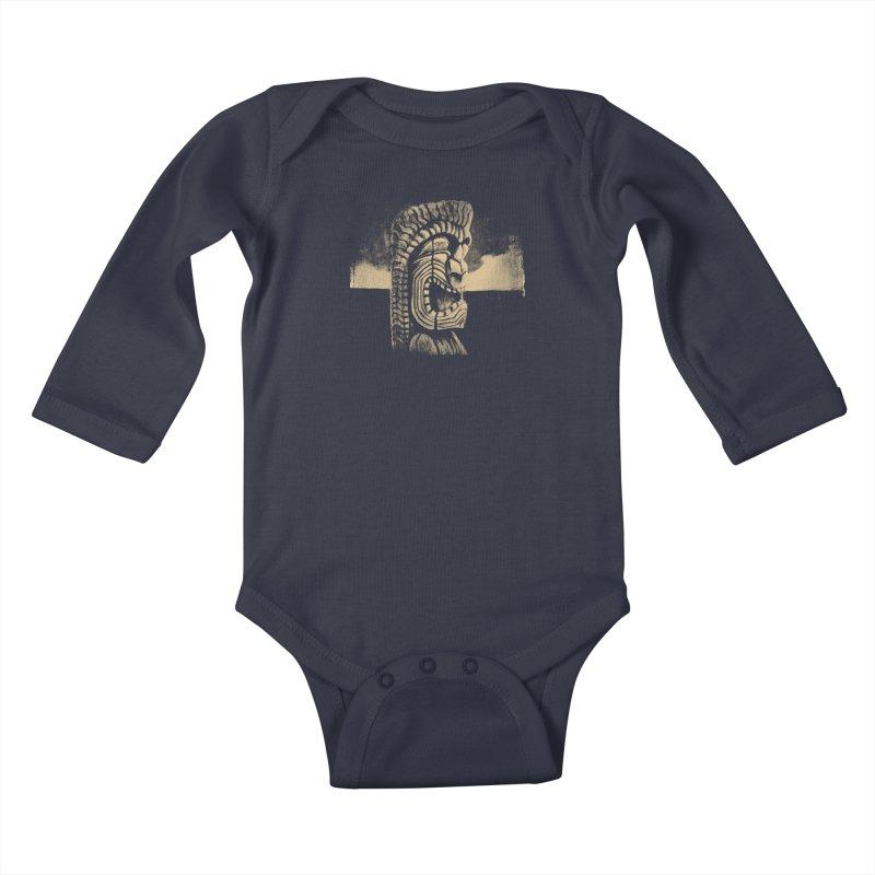 Ku #1 Kids Baby Longsleeve Bodysuit by Zerostreet's Artist Shop