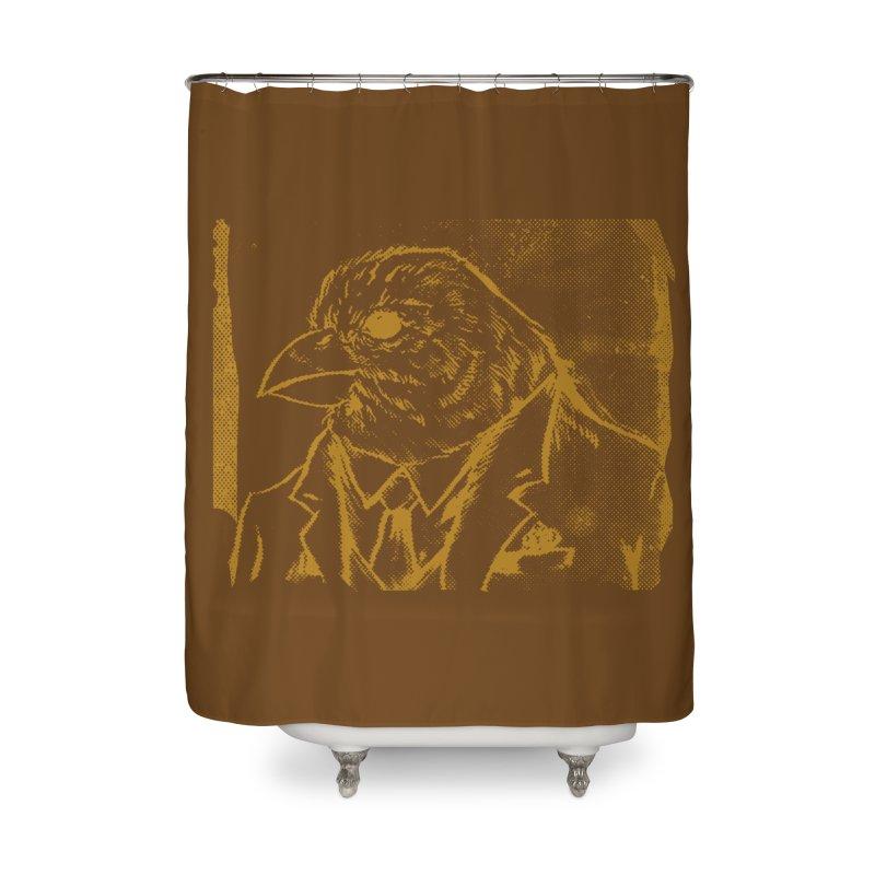 Dapper Finch Home Shower Curtain by Zerostreet's Artist Shop