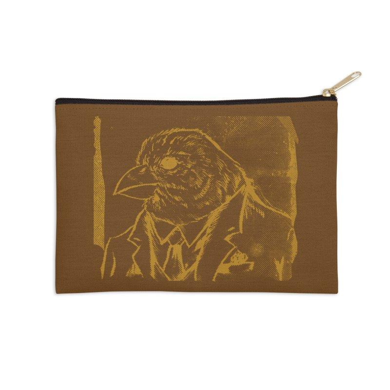 Dapper Finch Accessories Zip Pouch by Zerostreet's Artist Shop